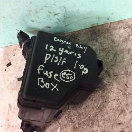 Fuse Box Toyota Yaris 2011-2015 petrol 1.0