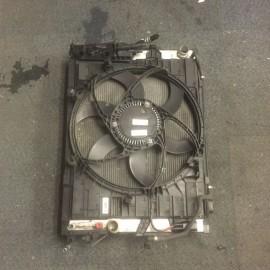 Radiator Cooling Fan w/Aircon BMW 5 Series 2004-2007 petrol 2.5