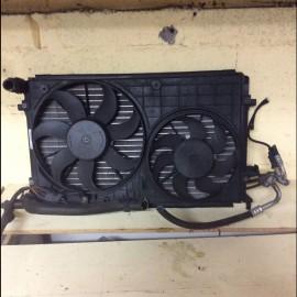 Radiator Cooling Fan w/Aircon Audi A3 2004-2008 petrol 1.6