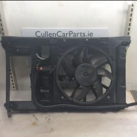 Radiator Cooling Fan w/Aircon Citroen Grand C4 Picasso 2006-2013 diesel 1.6