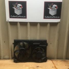 Radiator Cooling Fan w/Aircon Skoda Octavia 2007-2009 diesel 2.0