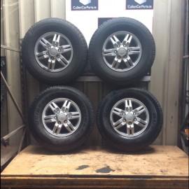 R16 6 stud alloy wheel set x 4 Isuzu D-Max 2006-2012 diesel 3.0