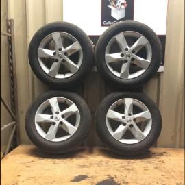 R16 5 stud alloy wheel set x4 Nissan Juke 2011-2015 petrol 1.6